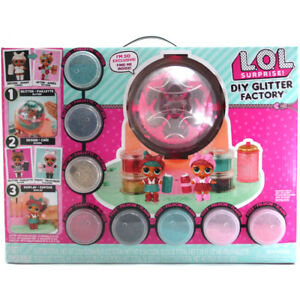 Details About Lol Surprise Diy Glitter Factory Doll Decorating Playset 556299e7c