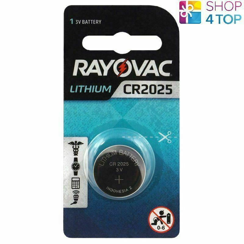 Rayovac CR2025 Lithium Batteries 3V Cell Coin Button Exp 2026 Indonesia New