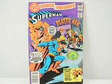 DC Superman And Plastic Man Comic Book