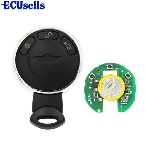 KYDZ Smart Remote Key 3 Button CAS System For BMW Mini Cooper 868MHz ID46