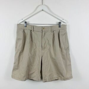Polo-Ralph-Lauren-Mens-Chino-Shorts-Size-36-Tyler-Short-Beige-With-Pockets