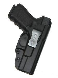 For-Glock-19-23-32-Gen-1-2-3-4-IWB-Concealed-Carry-Gun-Holster-Black-Polymer