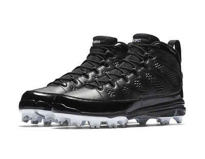 detailed look 78ddf 8419b Nike Men's Air JORDAN IX RETRO MCS Baseball Cleats Shoes Black AA1264-011 b  | eBay