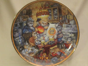 GOLD-MEDAL-FLOUR-115TH-ANNIVERSARY-collector-plate-BILL-BELL-FRANKLIN-MINT-Cat