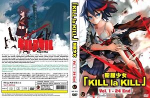 DVD-Kill-La-Kill-Anime-1-24End-Ingles-Subtitulo-y-todos-los-region-Gratis-Cd