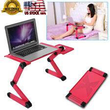 Diy Angle Adjustable Notebook Laptop Desk Aluminum Table Stand Bed
