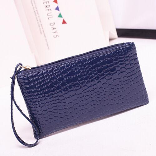 Women Fashion Clutch Zipper Bag Long Wallet Coin Purse Credit Card Holder Bag