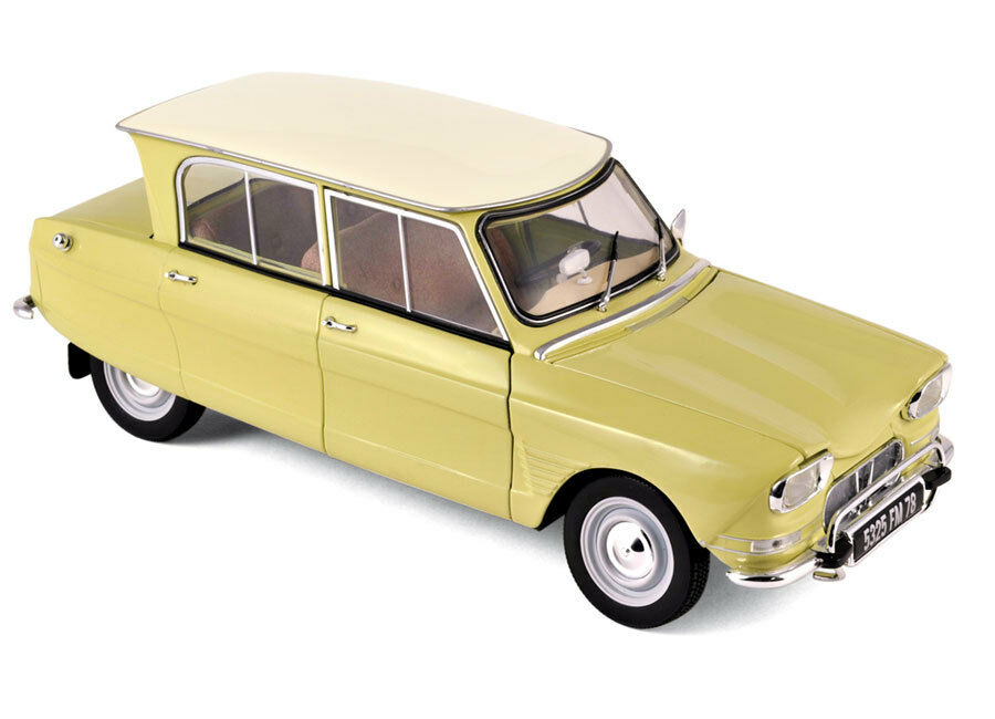 NOREV 1:18 1964 CITROEN AMI 6 Diecast Car Model 181535