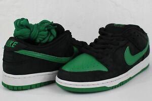 Nike-SB-Dunk-Low-Pro-Black-Pine-Green-White-Size-10-BQ6817-005
