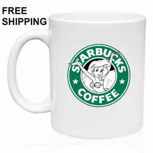 Ariel-The-Little-Mermaid-Birthday-Christmas-Gift-White-Mug-11-oz-Coffee-Tea