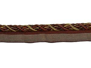 "Trimland Chenille 1015-DV 7338 BERRY GOLD Cord 3//8/"" Diameter Decorative Cord BTY"