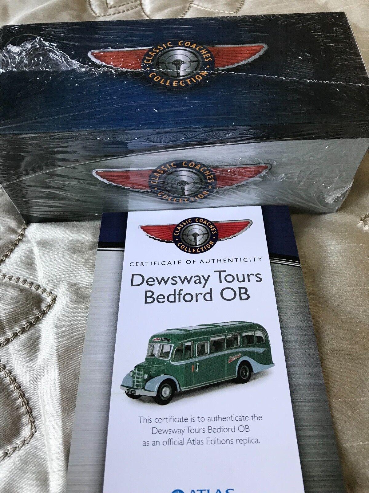 Atlas   Dinky Toys Dewsway Tours Bedford OB Superb Mint.