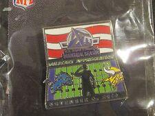Minnesota Vikings VS Detroit Lions Game Day Pin November 6, 2016