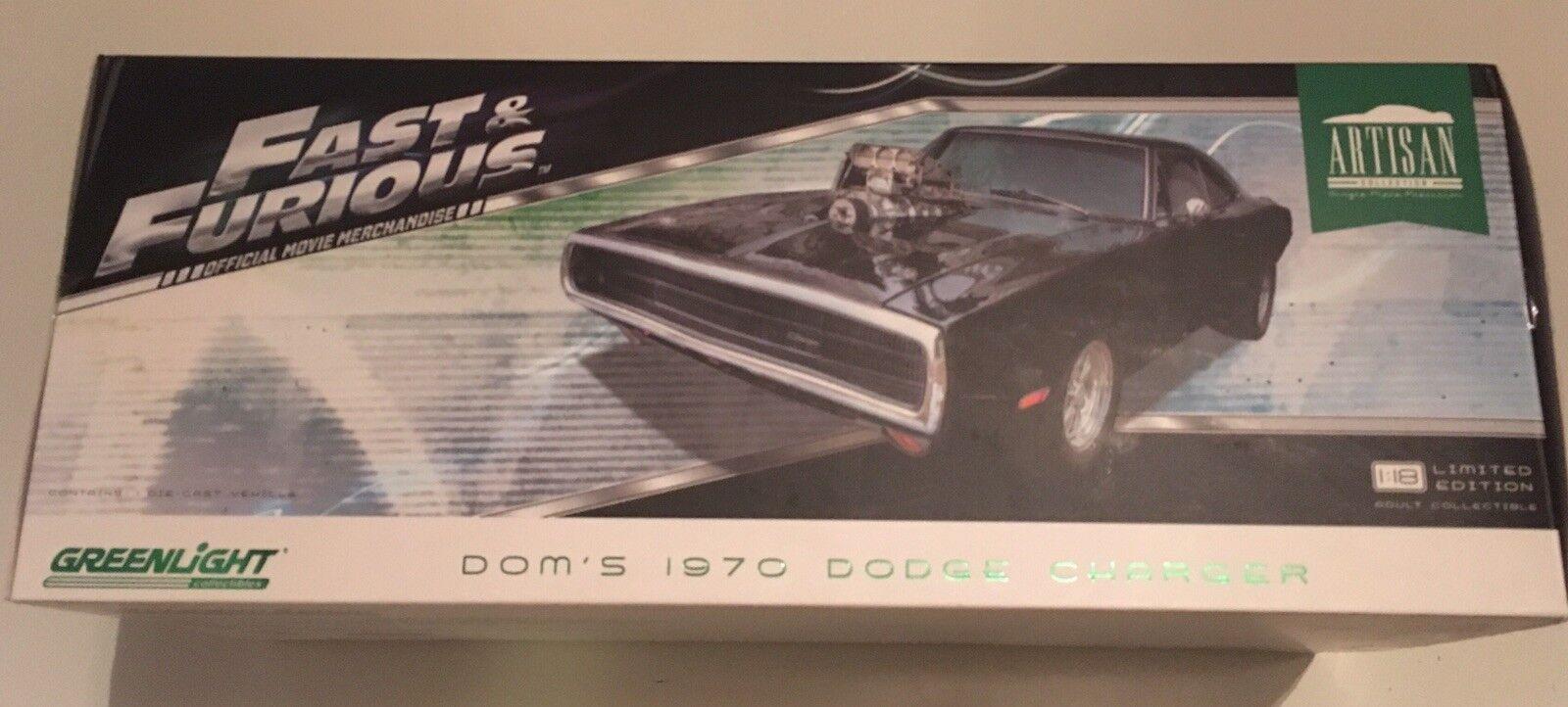 DOM's 1970 Cochegador Rápido & Furioso Película Artisan Collection by verdelight dañado