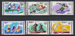Togo - 1976, Olympic Games, Montreal set - CTO - SG 1144/49 (g)