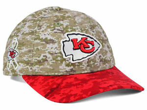 03f0e179b Kansas City Chiefs NFL New Era WOMENS Salute to Service Camo ...
