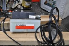 Spx Power Team Pa6r Hydraulic Pump Air Driven With Pendant