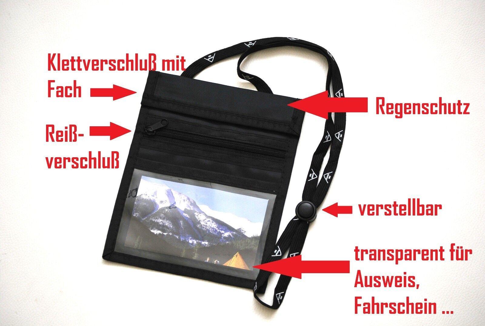 Sunwallet poitrine sachet Brustsafe Outdoor poitrine sac à bandoulière Outdoor Brustsafe Gris 88810b