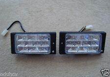 Par 2x Universal Para Coche Furgoneta Bus Delantero 10 LED Luces 12V Spot Niebla