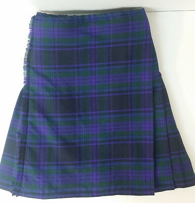Bellissimo Spirit Of Scotland Yard 8 Lana Kilt Ex Noleggio £ 99 A1 Condizione-
