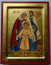 Hl.FAMILIE IKONE Maria Josef Jesus Icone Icon Holy Family Ikona Święta Rodzina