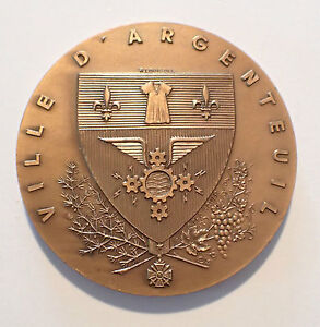Medal - Town D'Argenteuil Bronze - Dubois (5417J)