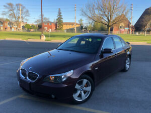 2007 BMW 525XI!! BRAND NEW BRAKES AND NO ACCIDENTS!!