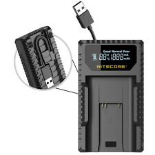 Nitecore ULM9 Camera Battery Charger for Leica BLI-312 Batteries - M Series