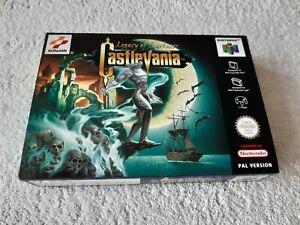 Castlevania Legacy of Darkness ~ Nintendo 64 N64 Pal En Caja Completo Coleccionistas