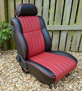 classic mini mpi spi interior seat retrim service ebay. Black Bedroom Furniture Sets. Home Design Ideas