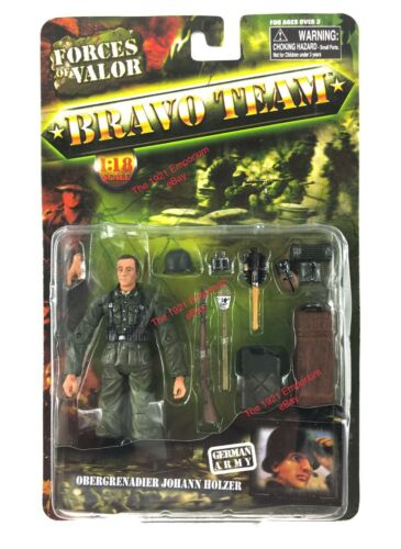 1:18 Unimax Toys Forces of Valor Bravo Team WWII German Soldier Figure Holzer