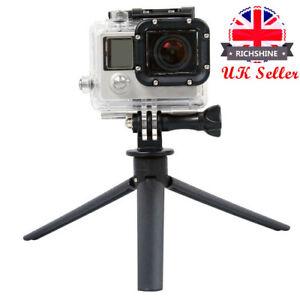 UK Mini Small Tabletop Handheld Tripod Compact Digital Camera DSLR Phone Clip Z