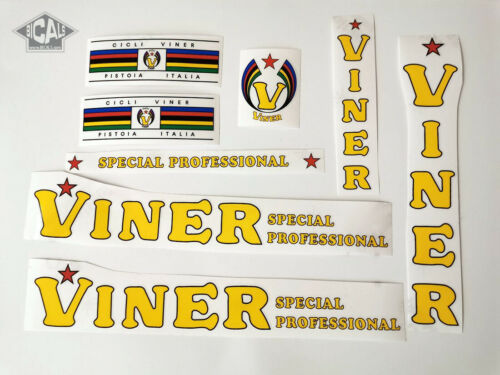 VINER Cicli Pistoia Special decal set sticker complete bicycle FREE SHIPPING