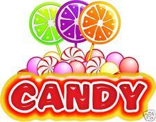 Candy Decal 14 Concession Restaurant Food Truck Cart Trailer Shop Vinyl Sticker