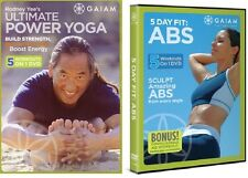 5 DAY FIT ABS + ULTIMATE POWER YOGA *10-ON-2-DVD + FREE Health & Fitness Bonuses