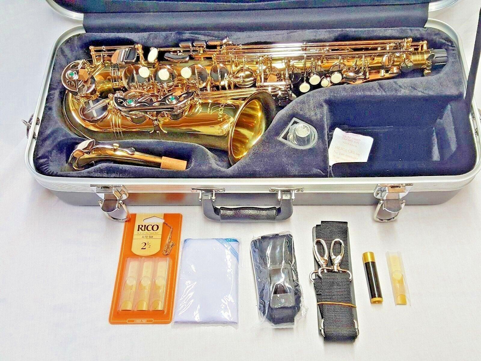 selmer aristocrat as600 alto saxophone w case new free shipping rh mojopettaxi com