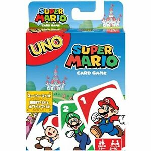 UNO Super Mario Card Game 816980326999