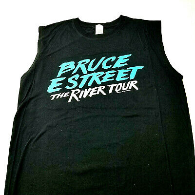 Bruce Springsteen E Street Band Sleeveless Tank Concert T Shirt The River Tour