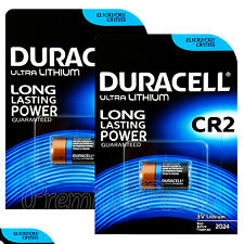 2 x Duracell Ultra Lithium CR2 batteries 3V CR17355 EL1CR2 EXP:2024 Pack of 1