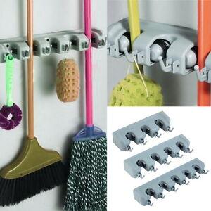 Wall-Mounted-Mop-Organizer-Holder-Brush-Broom-Hanger-Storage-Rack-Kitchen-ToolSK