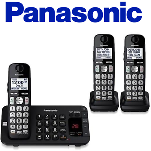 panasonic kx tge443b expandable cordless phone with enhanced noise rh ebay com White Noise Machine for Cubicle Noise Cancelling Machine for Office