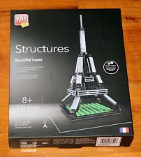 Block Tech Structures THE EIFFEL TOWER 140 Piece Architecture NEW