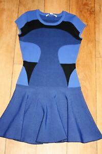 S Furstenberg Jumper Knitted Party Designer Dress Von 8 Size Diane 10 Skater w64ZYq4