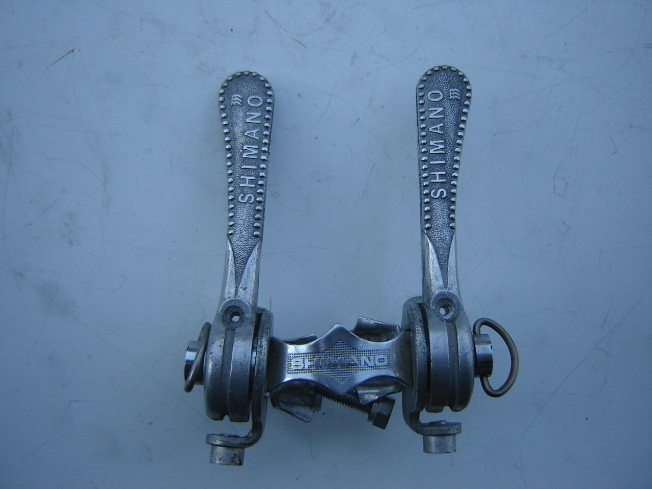 SHIMANO 333 CLAMP ON SHIFTING LEVERS - NOS