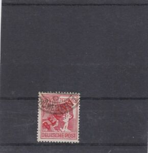 BERLIN-1947-SURCHARGE-ROUGE-YT-11-OBLITERE