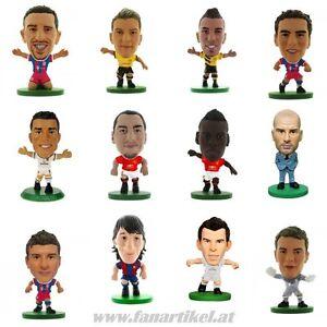 Fussball-Sammlerfiguren-Fanartikel-Ronaldo-Messi-Bale-Ibrahimovic-Ozil-Zidane