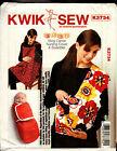 Kwik Sew Pattern K3734 3734 Baby Swaddler Sling Carrier and Nursing Cover