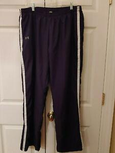 Men-Under-Armour-Black-Athletic-Training-Pants-Size-XL
