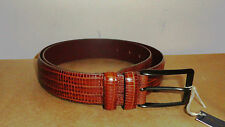 Cintura da uomo in pelle pregiata cm.110 elegante cerimoniale  ANDERSON'S