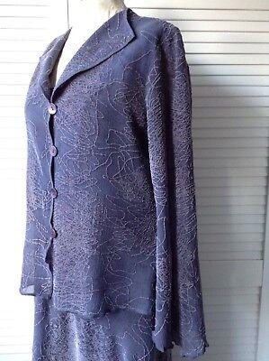 Avere Una Mente Inquisitrice Beppe Bondi Garza Di Lana Dress & Jacket 16-